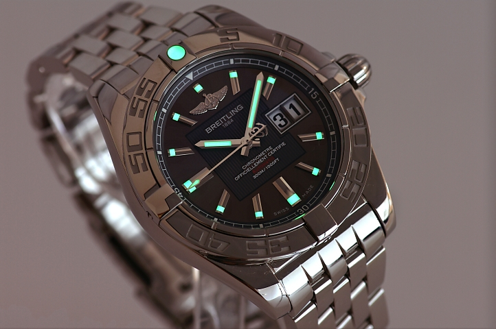 Breitling Galactic 41--