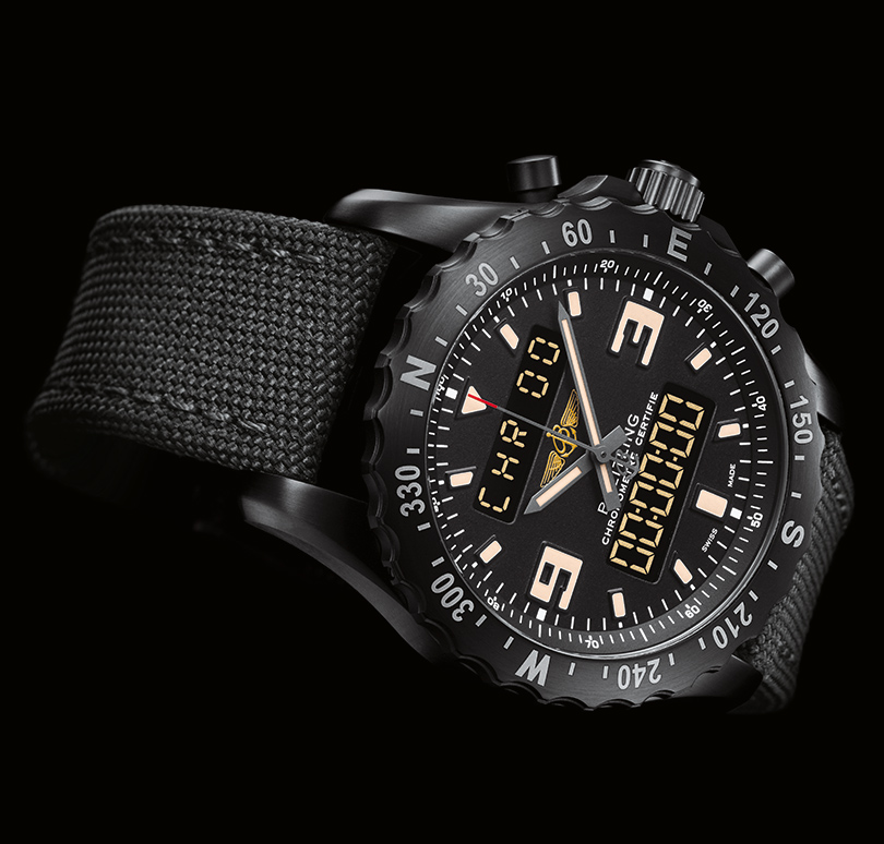 US Cheap Breitling Chronospace Military 46MM Watch