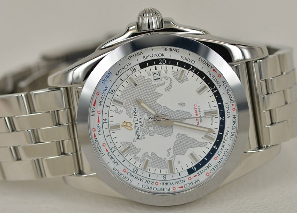 New Breitling Galactic Unitime SleekT Replica Watches