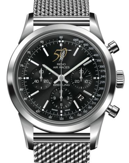 Swiss Breitling Transocean Chronograph Reno Air Races 50th Anniversary Replica Watches