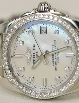 Swiss Women's Breitling Galactic 36 SleekT Fake Watches