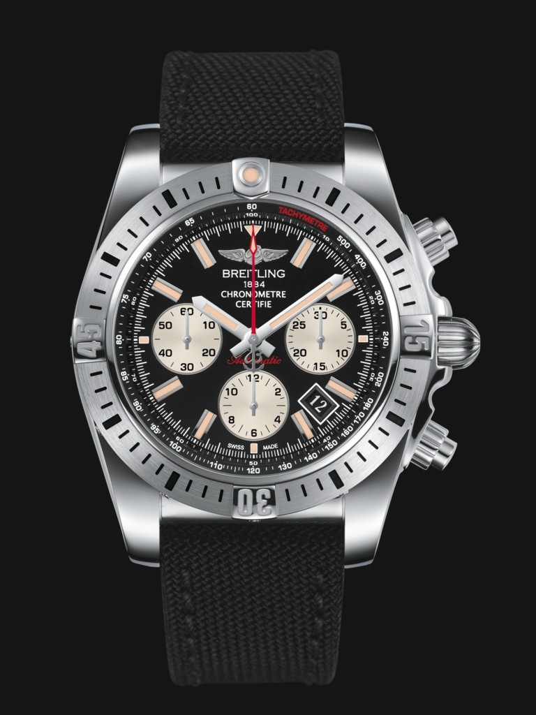 Breitling Chronomat 44 Airborne Replica Watches With Black Dials