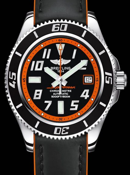 Orange Professional Breitling Superocean 42 Replica Watches
