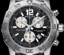 Popular Breitling Replica Colt Chronograph II With Black Dial For Men