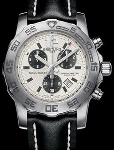 Popular Breitling Replica Colt Chronograph II With White Dial For Men