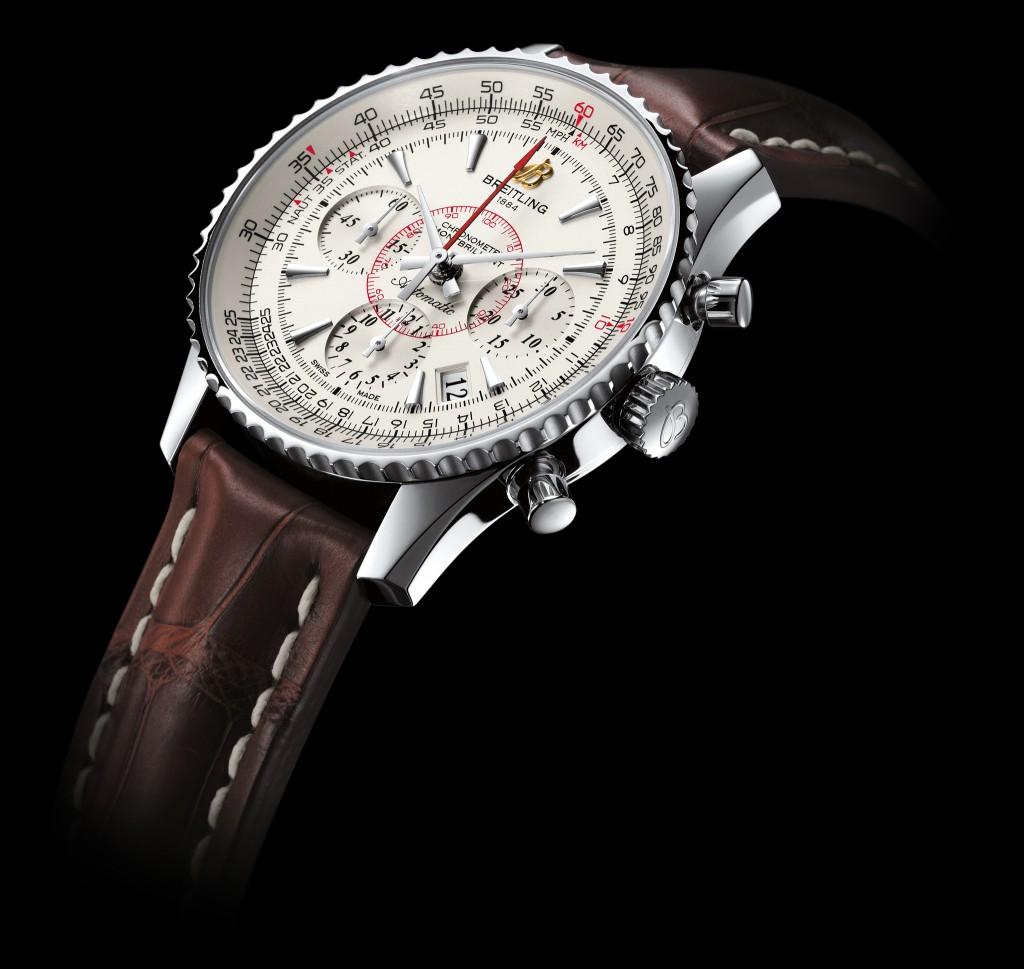 Steel Cases Breitling Montbrillant 01 Copy Watches