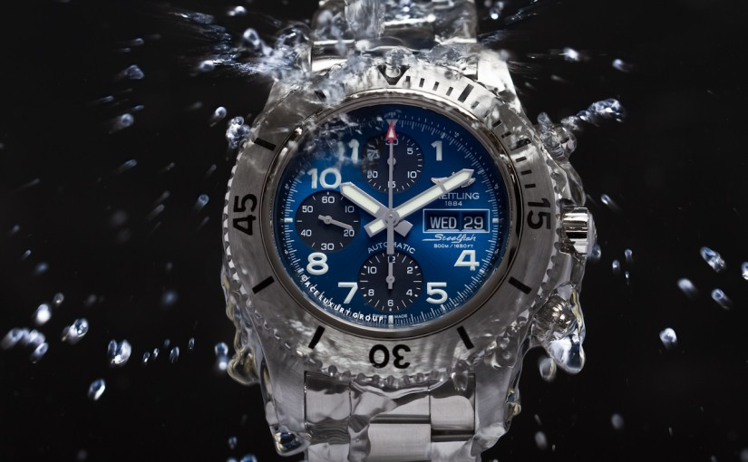 Fake Breitling Superocean Chronograph Steelfish Watches—Seagoing Tools With Blue Dials