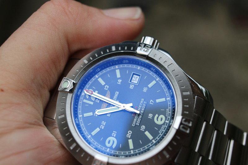Steel Cases Breitling Colt Quartz Copy Watches