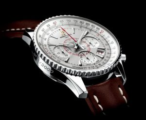 The appearance design of this red second hand fake Breitling Montbrillant highlights the features of Breitling