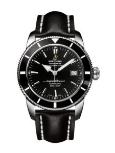 For this all-black replica Breitling Superocean Heritage watch, the whole design just gives us a cool feeling.