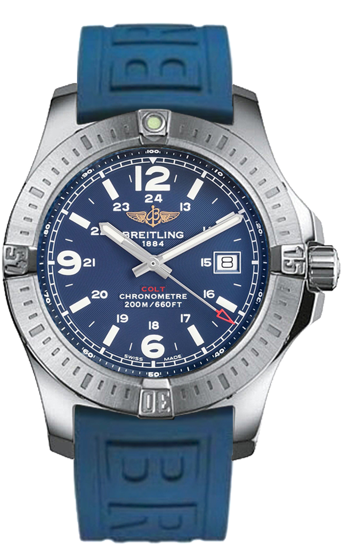 These delicate replica Breitling Colt watches are consistent with the quality of Breitling, with durable and reliable stainless steel, and clear pointers and scale.