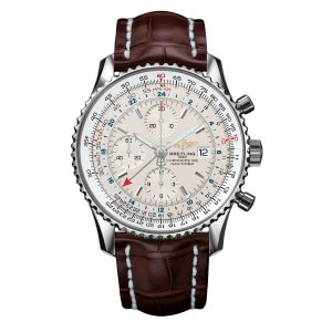 With the vintage design style, this delicate replica Breitling watch can offer an extraordinary experience and a sense of style for these cool men.