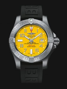 With the traditional design style, this replica Breitling watch shows a classical appearance.