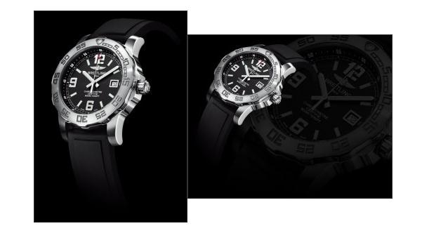 Presenting with all-black appearance, this replica Breitling watch also is a good choice.