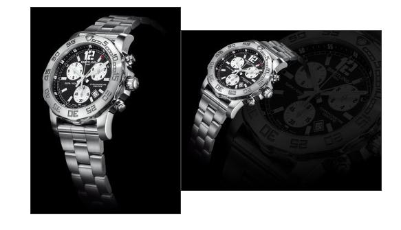 With the contrasting dial design, this fake Breitling watch directly shows the best readability.