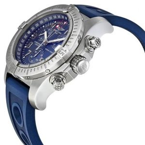 The water resistant copy Breitling Avenger Seawolf Chronograph watches are made from stainless steel.