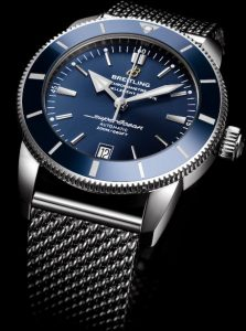 The blue dials copy Breitling watches have date windows.