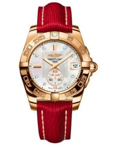 The luxury fake watches are made from 18k rose gold.