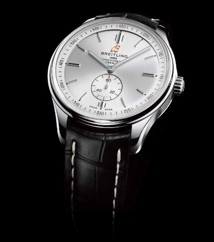 Swiss imitation watches online show the independent seconds.