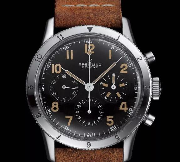 The new Breitling looks similar to the original model in 1953.