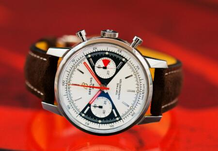 The Breitling is inspired by the original model in 1960s.