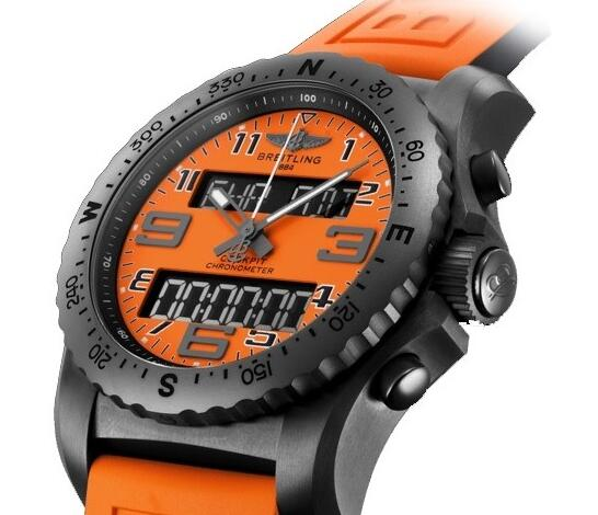 Swiss replica watches highlight the energy and fashion with orange color.