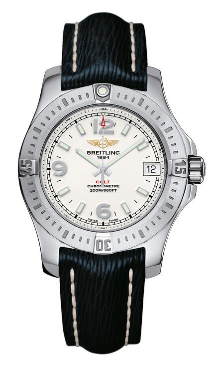 Online replica watches are treated with luminous coating for the hands and hour markers.