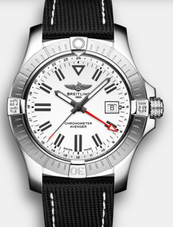 Swiss replica watches are clear for the white colored dials.